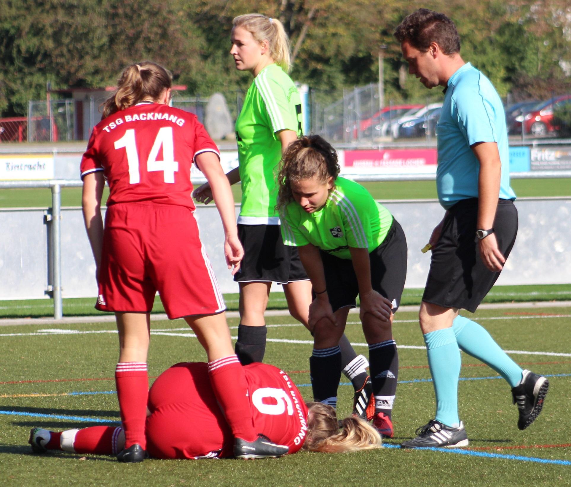 Frauen: Spielabbruch gegen Oppenweiler-Strümpfelbach