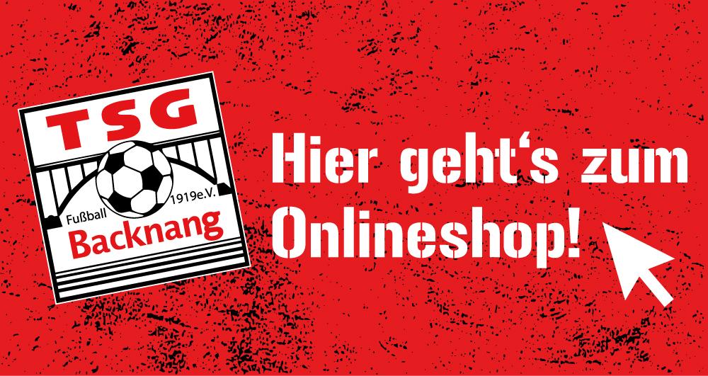 TSG Fanshop jetzt online!