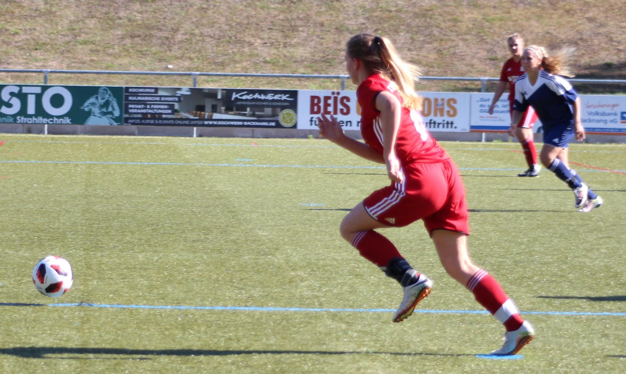 Frauen: 3:4 gegen SV Hoffeld