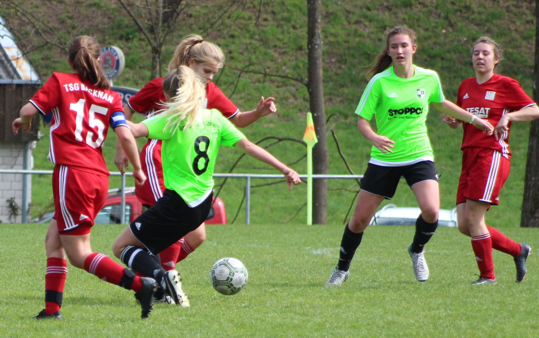 Frauen erzielen Auswärtspunkt in Oppenweiler