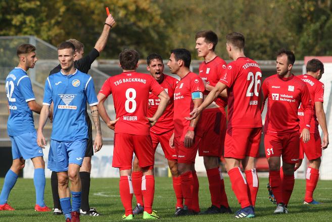 1:0 - Niederlage in Pforzheim - Tolomeo sieht Rot
