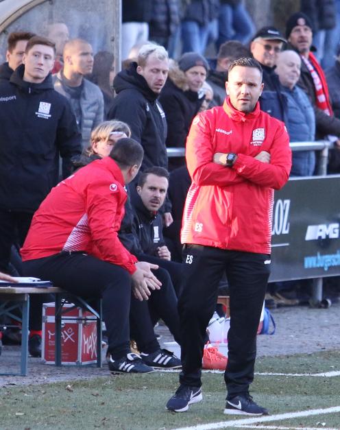 Mit neuem Trainer 1:1 gegen Freiberg