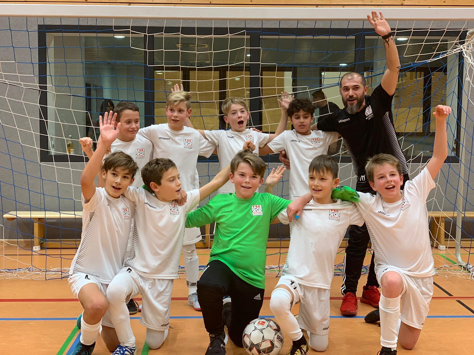 U11 gewinnt auch das Turnier des TSV Eutendorf