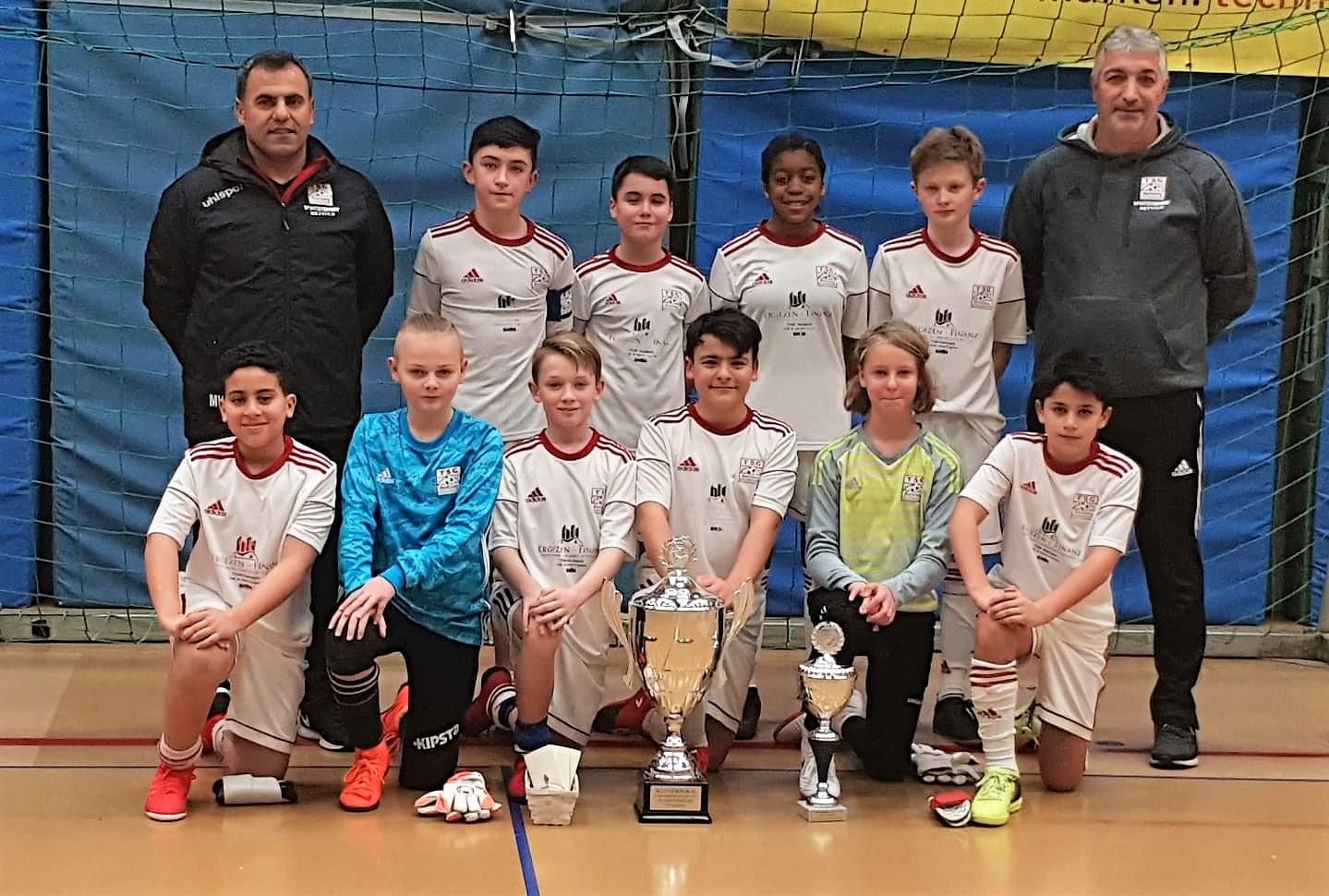 U12 siegt beim Allmersbacher Schwabengarage Cup 2019
