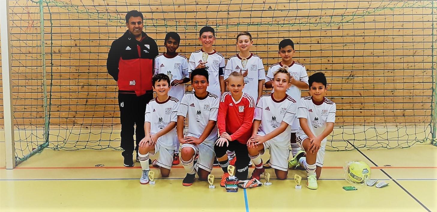 U12 gewinnt Turnier in Waldenbuch und im Achtelfinale des Bezirkpokals