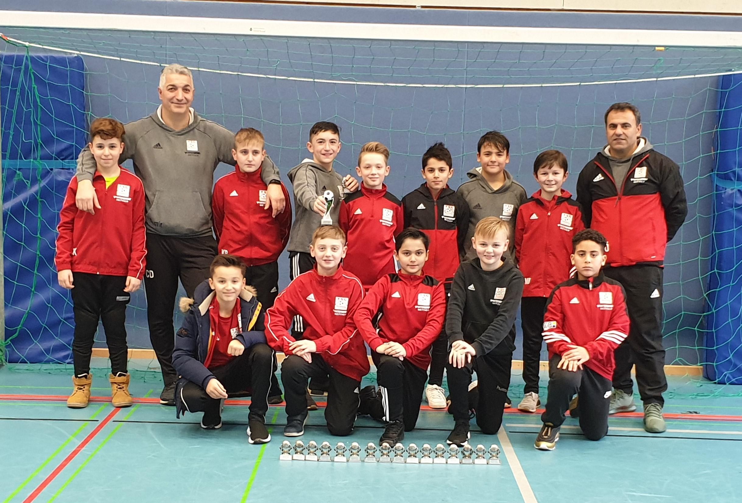 U12: Gute Mannschaftsleistung beim Turnier in Murrhardt