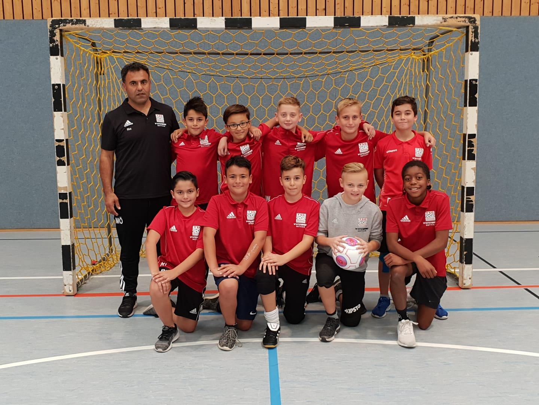 U12 gewinnt Turnier des SC Ilsfeld