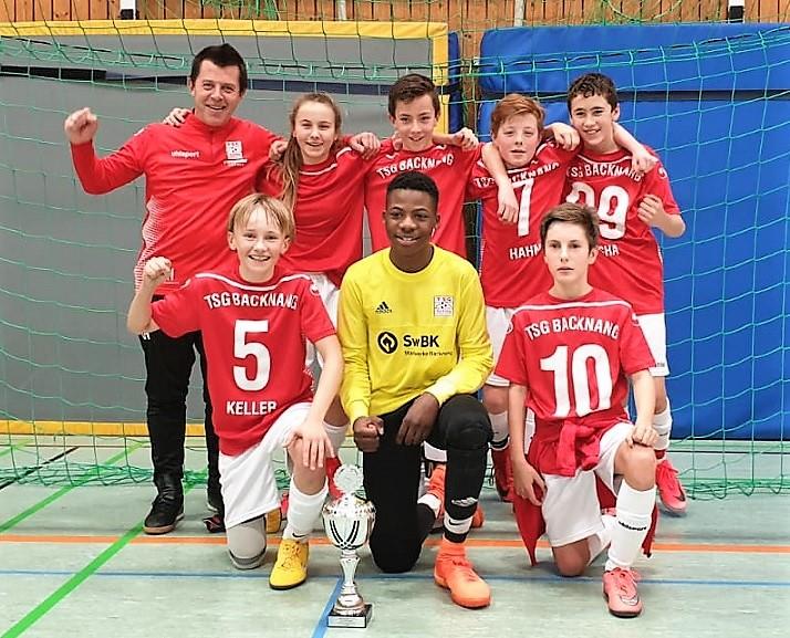 TSG U13 siegt beim Intersport Räpple-Cup des TSV Wendlingen