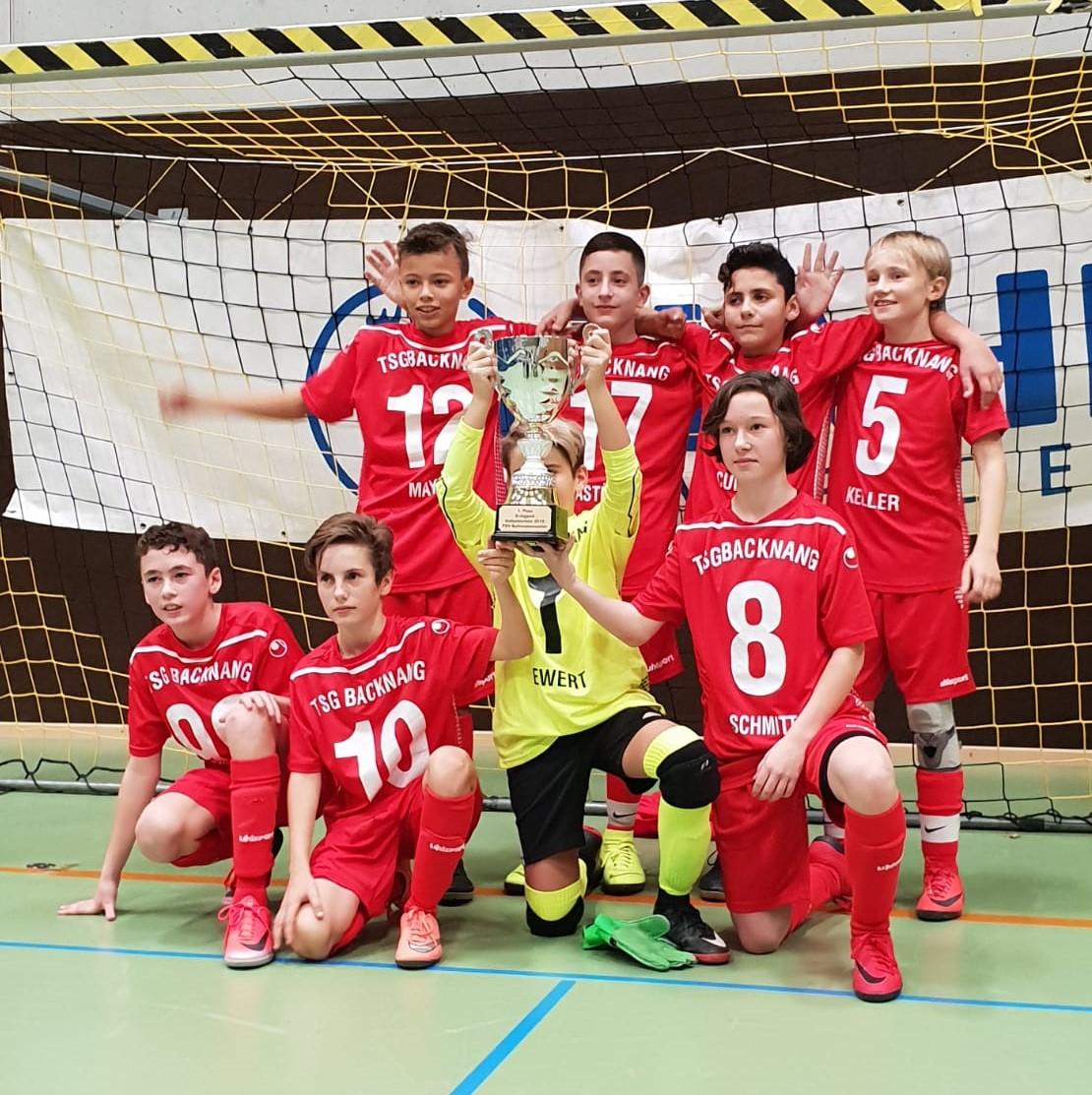 U13 gewinnt das Turnier des TSV Baltmannsweiler