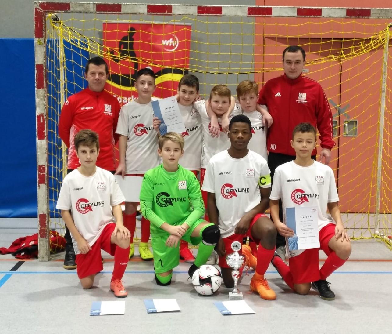 U13 erreicht 2. Platz beim Bezirksfinale des Sparkassen JuniorCup