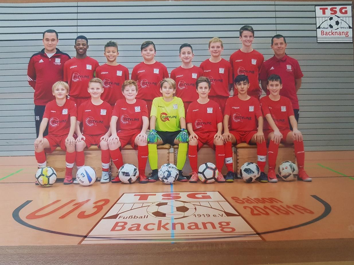 Einzug unserer U13 in die Zwischenrunde des WFV-Sparkassen Juniorcups
