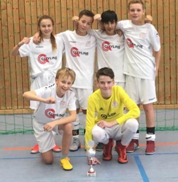 U13 mit 3. Platz beim Turnier des TSV Grafenau