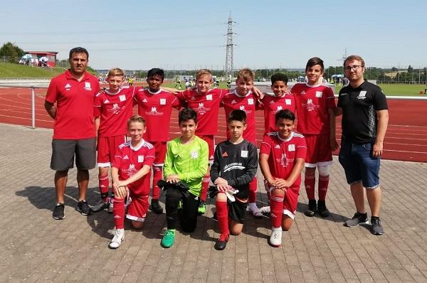 Neue U13 mit starkem 2. Platz in Wendlingen
