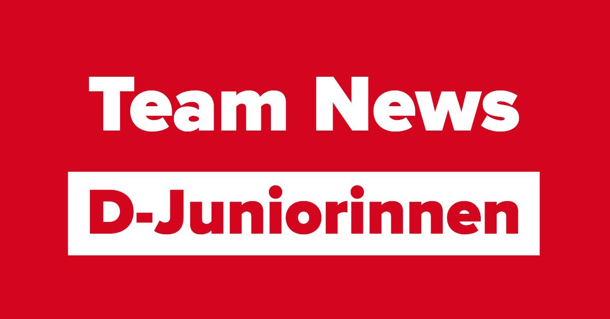 D-Juniorinnen gewinnen gegen den SV Winnenden