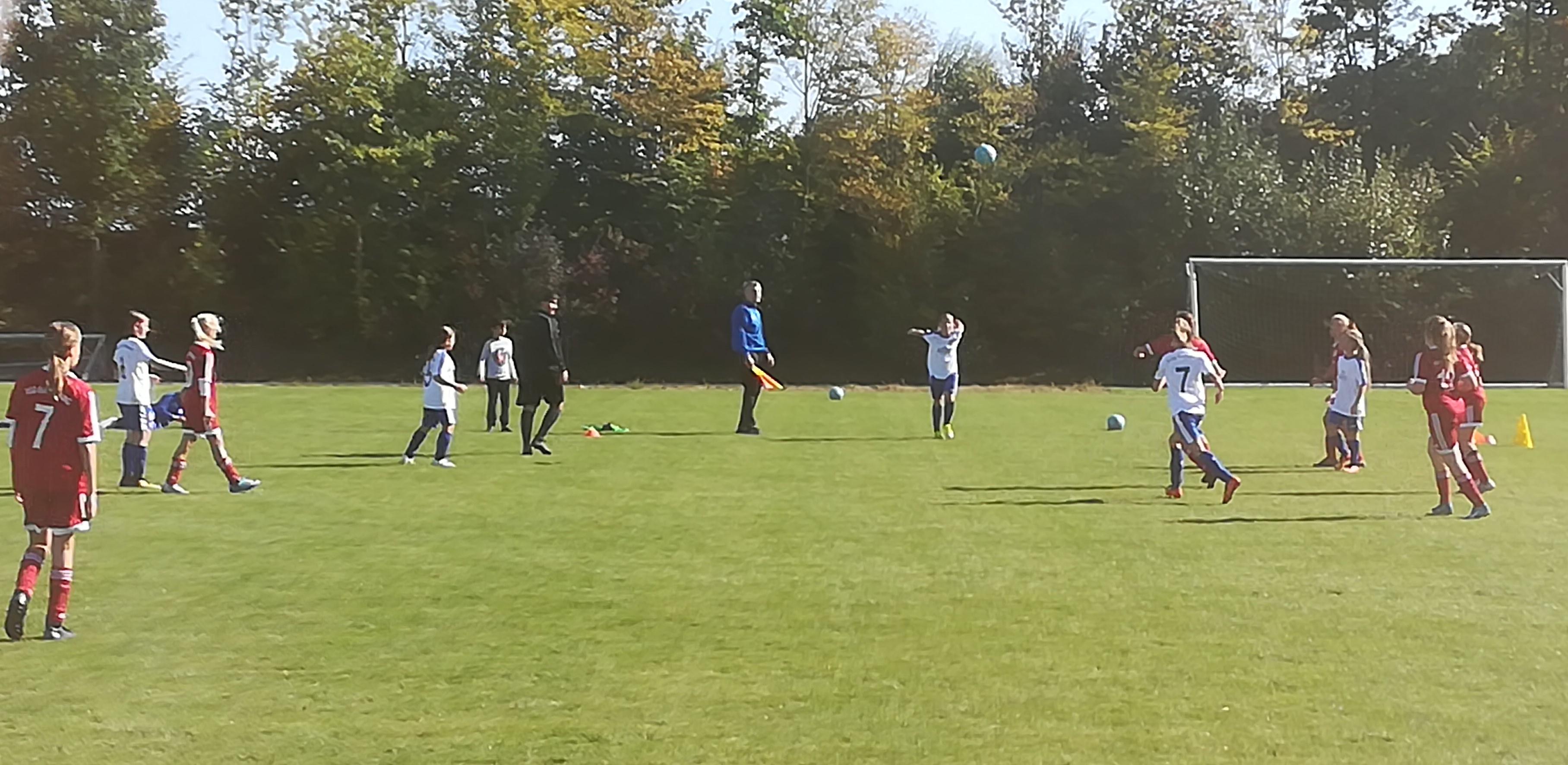D-Juniorinnen spielen 0:0 gegen Kleinaspach