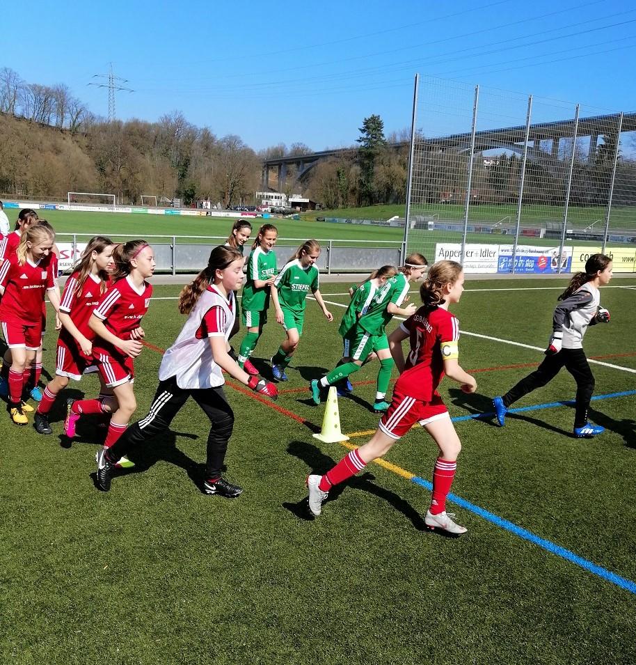 D-Juniorinnen gegen SV Hegnach