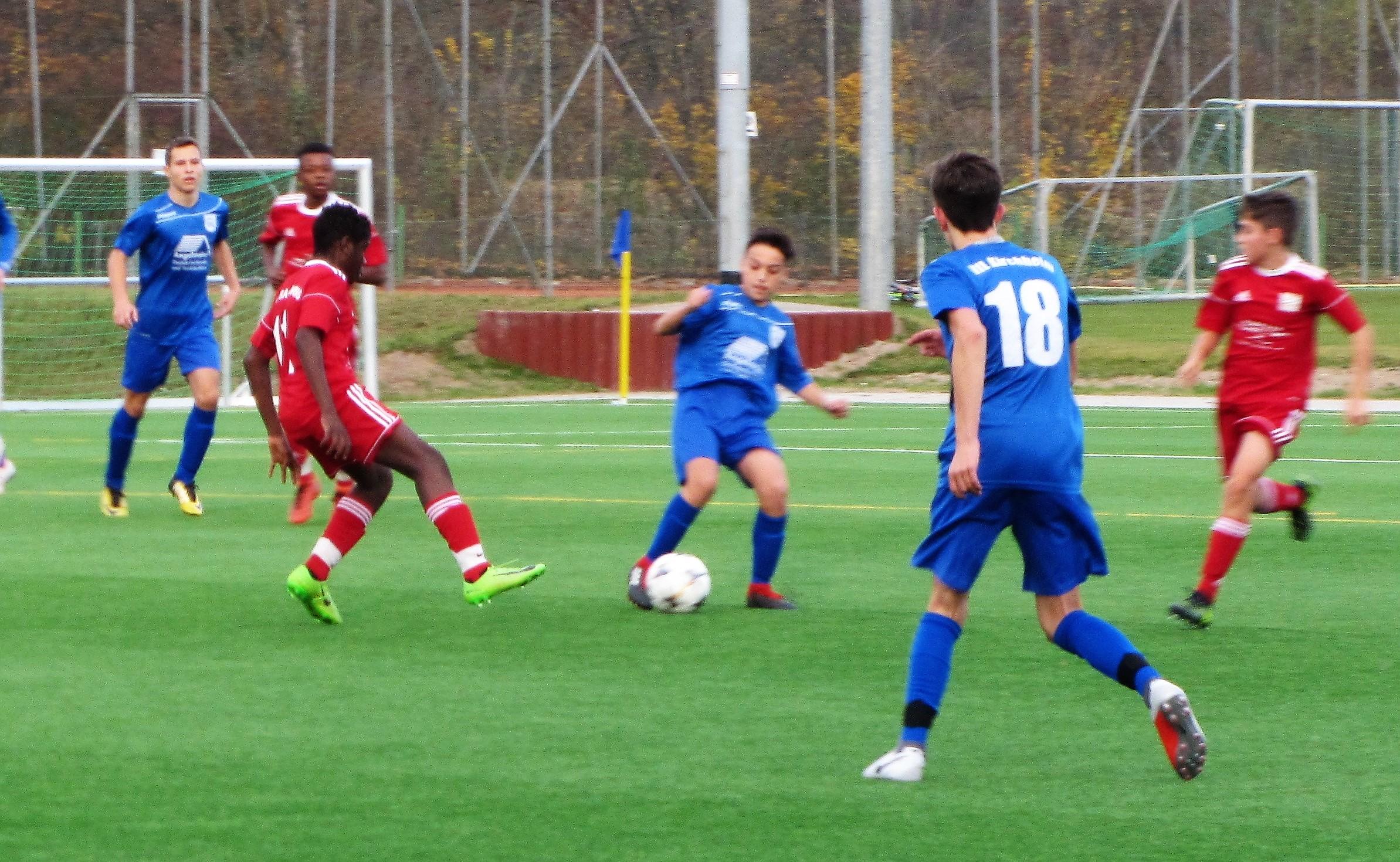 U15: VfL Kirchheim - TSG  3:0