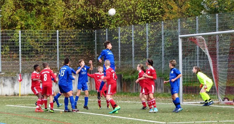 U15 erleidet Rückschlag gegen die Sportfreunde Schwäbisch Hall
