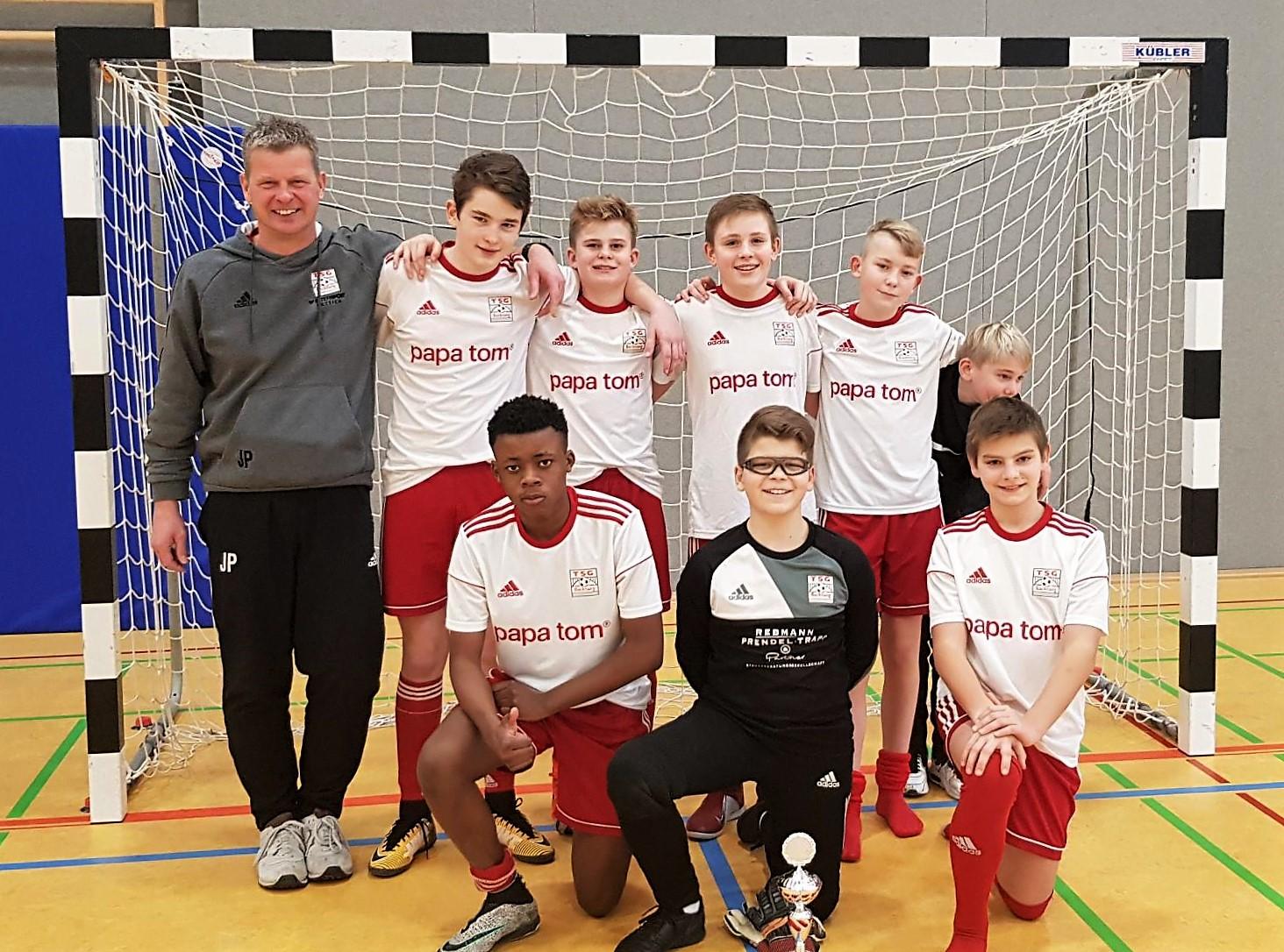 U14 auf Platz 3 beim Turnier des SC Urbach