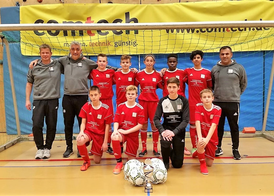 C-Jugend wird Zweiter beim Turnier in Allmersbach