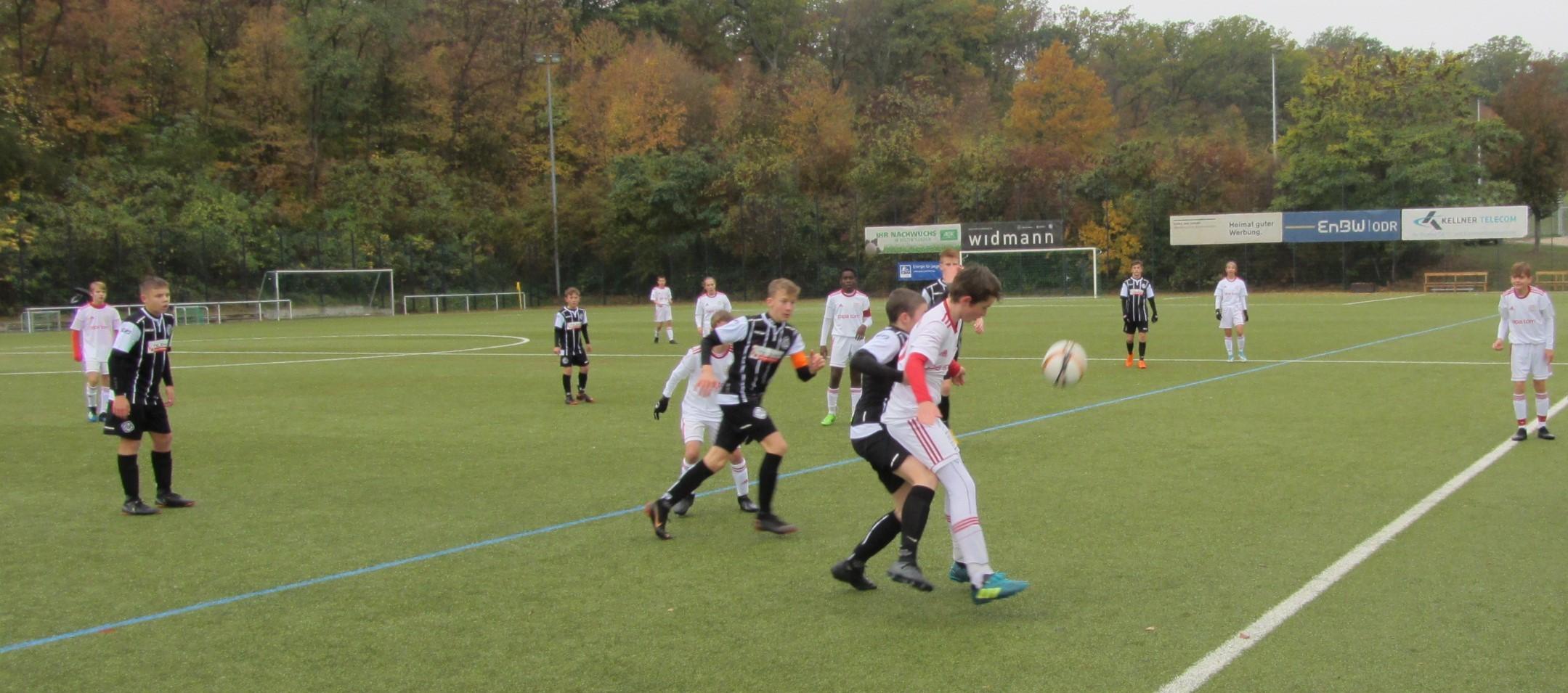 U15: Niederlage gegen den VfR Aalen