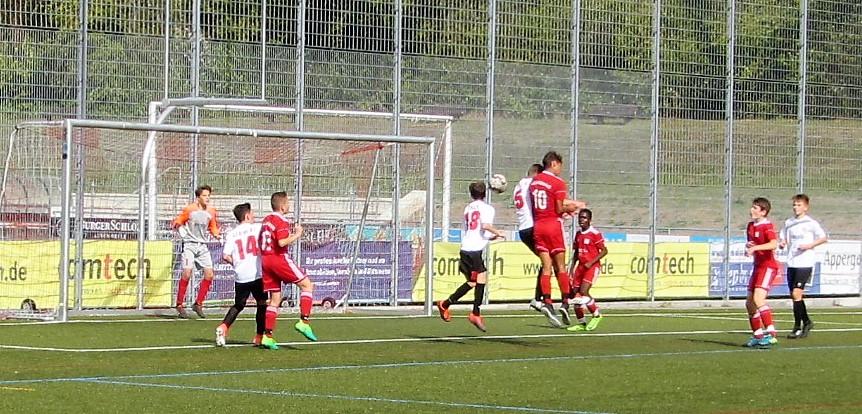 U15: Erster Punkt in der Landesstaffel gegen Weilheim/Teck