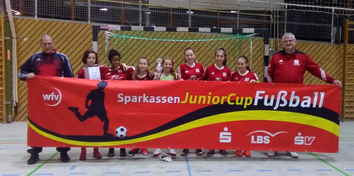 U15-Juniorinnen gewinnen WFV-Vorrundenturnier