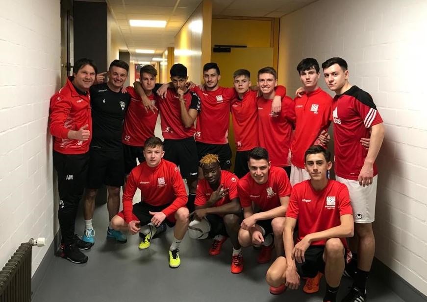 U19 bei der Süddeutschen Futsalmeisterschaft am Start