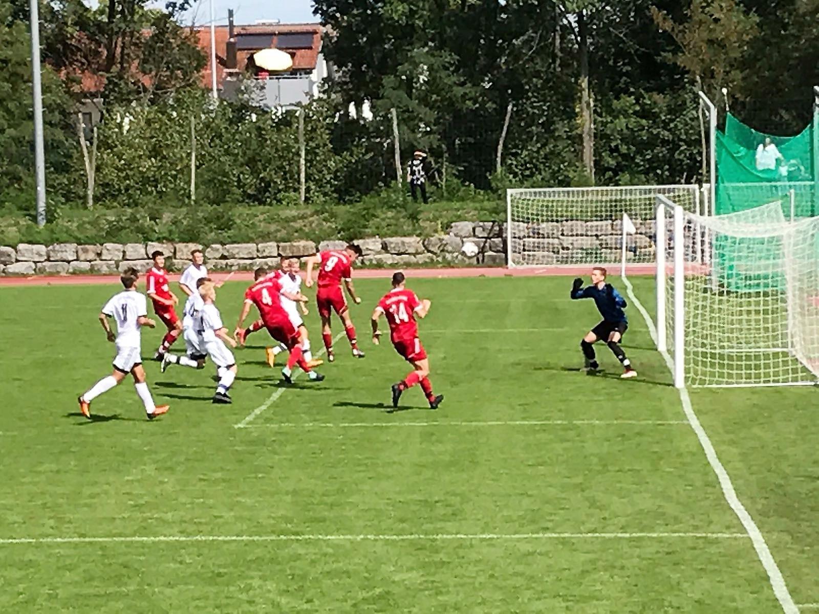 U19 mit Auftaktniederlage gegen Weilheim/Teck