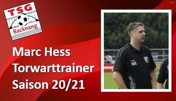 Marc Hess wird neuer Torwartcoach in den Etzwiesen!