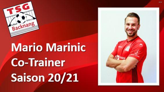 Mario Marinic bleibt 2 weitere Jahre ein Roter!