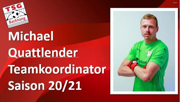 Quattlender übernimmt als Teamkoordinator