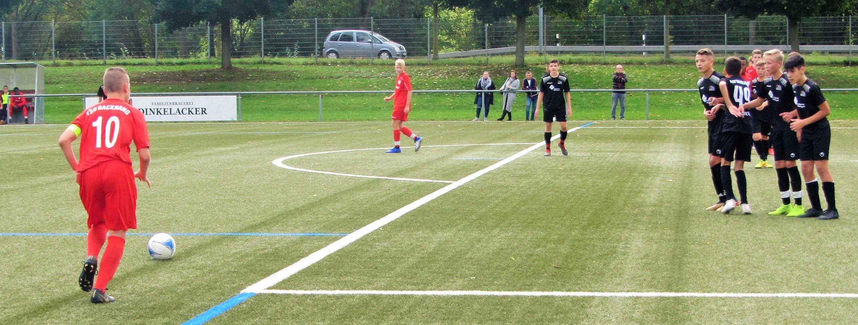 U15-Junioren weiterhin Tabellenführer: 3:0 beim FSV Waiblingen III