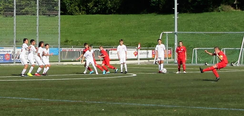 U15-Junioren schlagen Fellbach II mit 7:0