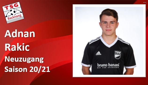 Adnan Rakic kommt vom TSV Essingen