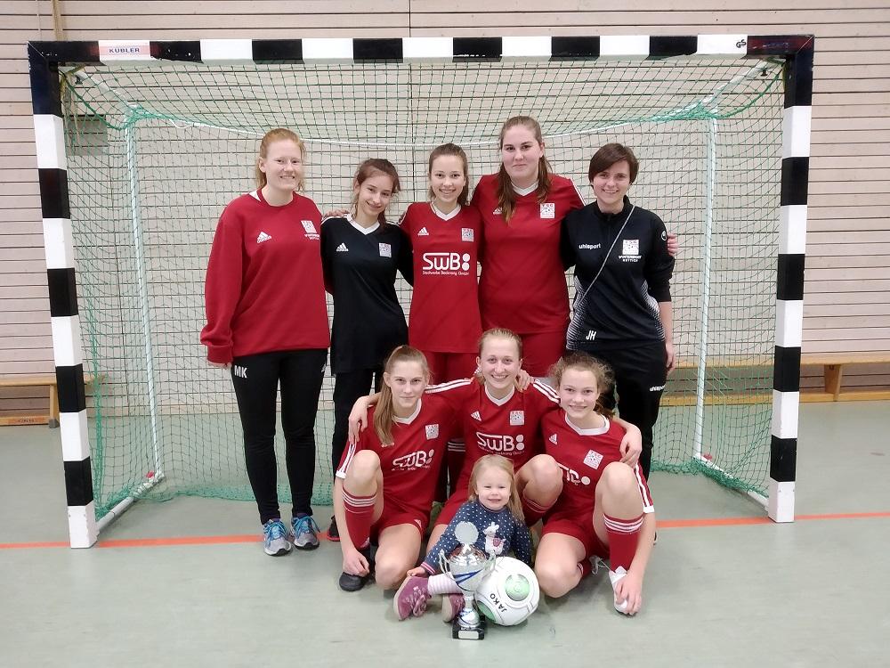 C-Juniorinnen erreichen 2. Platz beim Turnier in Bissingen