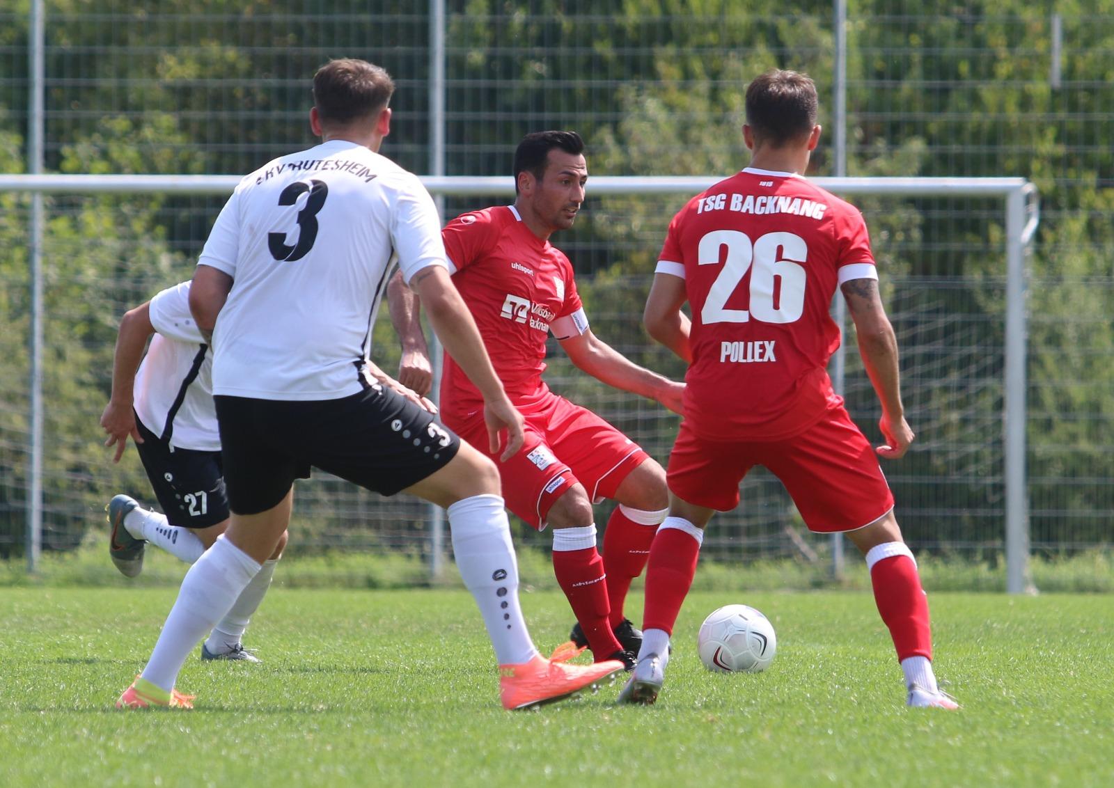 Erfolg im Testspiel gegen Rutesheim