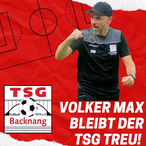 Physio Volker Max geht ins 5. TSG-Jahr!