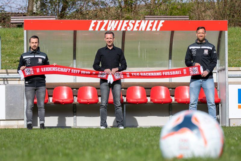 Mario Marinic und Julian Schieber sind in der kommenden Saison das neue Trainerduo!