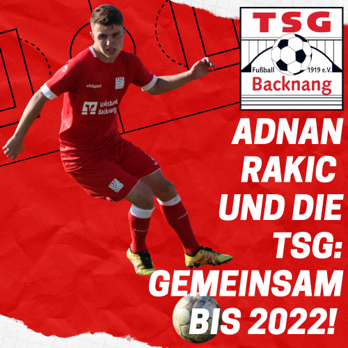 Adnan Rakic bleibt ein weiteres Jahr