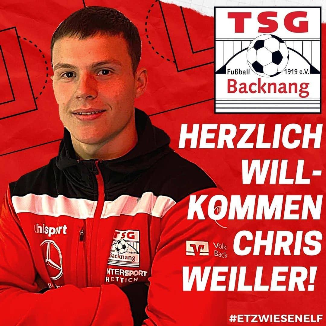 Erster Neuzugang Christian Weiller