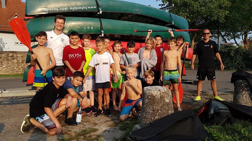 U12: Erfolgreiches Trainingslager in Braunsbach